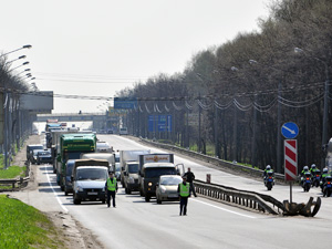 4, 5, 8 и 9 мая ограничат движение транспорта