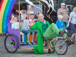 Зеленоградцев приглашают на конкурс креативных колясок и велосипедов