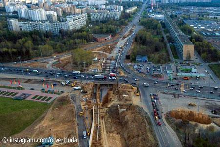 Развязку на Ленинградке у «Штыков» пообещали открыть ко Дню города