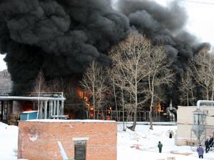 Пожар на «Стеклопластике»