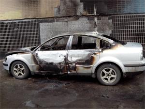 За поджог и разгром машин в 14-м микрорайоне арестован охранник