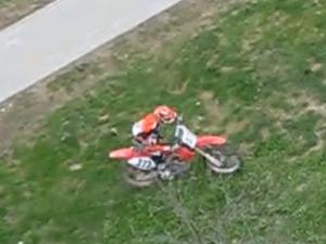 Мотокросс на газоне