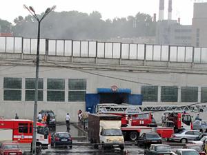 В Крюковскую площадь ударила молния