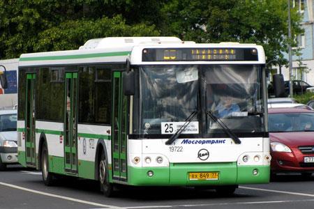 Время работы автобусов №25 продлили на три часа