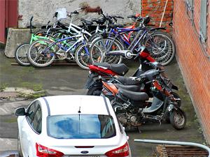 Полицейские задержали трех серийных велосипедных воров