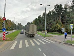 На Московском проспекте сбили пенсионерку