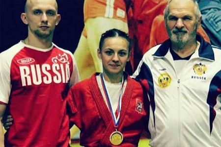 16-летняя зеленоградка выиграла первенство России по самбо