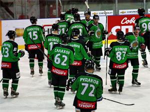ХК «Зеленоград» поднялся на первое место