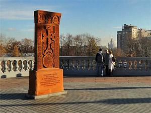 У Никольского храма установят памятный крест жертвам геноцида армян