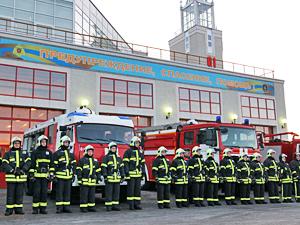 В промзоне Алабушево открыли пожарное депо с музеем