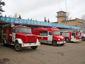 45 лет старейшей пожарной части Зеленограда