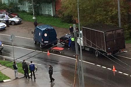 В аварии с грузовиком в Сходне погибла 20-летняя пассажирка