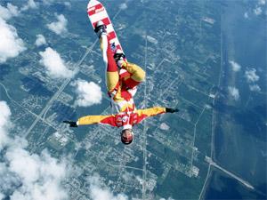 Зеленоградцы увидят уникальный прыжок с парашютом