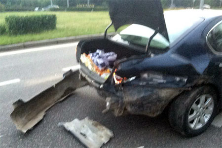 Пьяного автомобилиста поймали после ДТП на Солнечной аллее