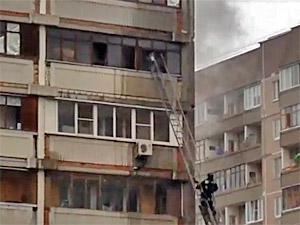 В 18-м микрорайоне сгорела квартира