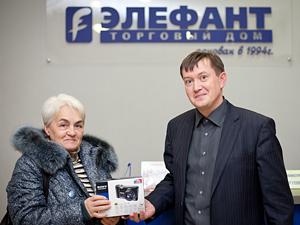 Народному корреспонденту Инфопортала подарили фотоаппарат