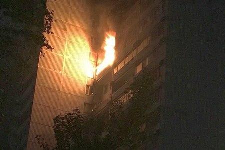 В корпусе 1003 сгорела квартира