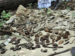 Под Менделеево нашли обломки советского истребителя