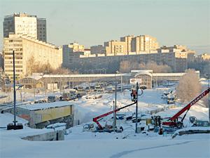 Завершение реконструкции моста у МИЭТа откладывается до осени