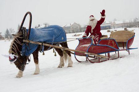 Путешествие на ферму к Деду Морозу
