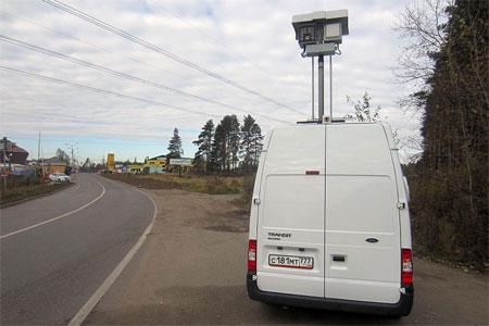 В префектуре утвердили места дислокации передвижных камер замера скорости
