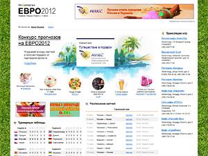 Прогнозы игр Евро-2012 на Инфопортале