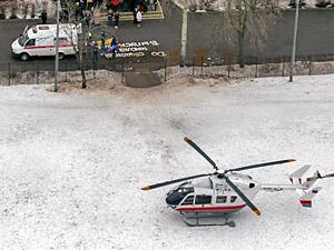 Медиков «скорой помощи» пересадят на вертолеты