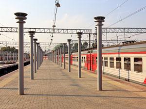 Платформы электричек на Ленинградском вокзале оборудуют навесами