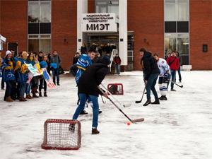 Хоккейный флешмоб