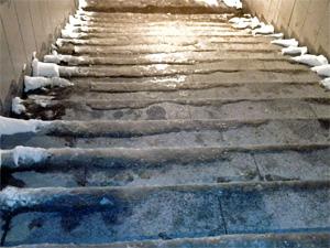 Ледяные ступени