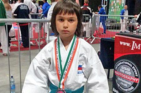 8-летний каратист из Зеленограда завоевал «бронзу» на чемпионате мира в Ирландии