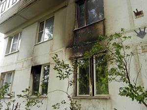 Детская шалость привела к пожару на Березовой аллее