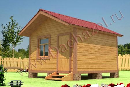 Зеленоградская компания «ДачаЗел» построит баню за 990 рублей