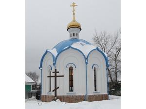 В воскресенье в Голубом освятят новый православный храм