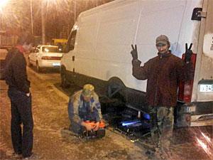 Зеленоградцы собирают деньги в помощь застрявшему на трассе М11 дальнобойщику