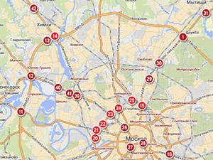 Самый опасный перекресток Москвы находится на Ленинградке