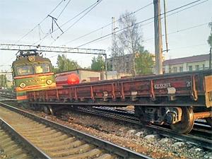 Сход поезда привел к сбою в движении тверских электричек