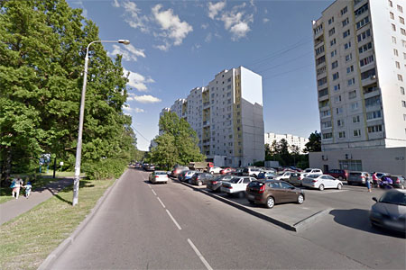 Ребенок попал под мотоцикл в 12-м микрорайоне