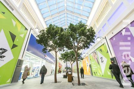 В конце апреля в «Зеленопарке» откроется зона магазинов модной одежды