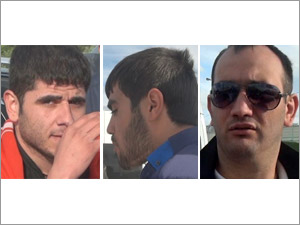 По делу о налете на ювелирный салон задержаны трое азербайджанцев