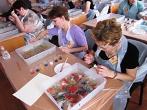 Рисование на воде в Зеленограде «Эбру»! Научим рисовать за 1 день!