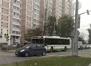На «зебре» на Московском проспекте сбили пенсионерку