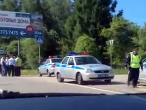 Сбивший насмерть двух человек на Пятницком шоссе водитель был пьян