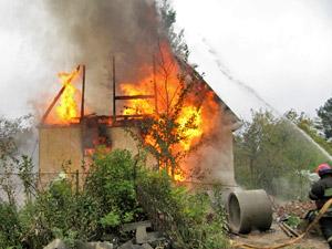 За сутки в Зеленограде и окрестностях сгорели две машины и частный дом