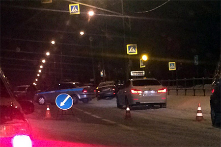 Пожилая автомобилистка пострадала в ДТП на Георгиевском проспекте
