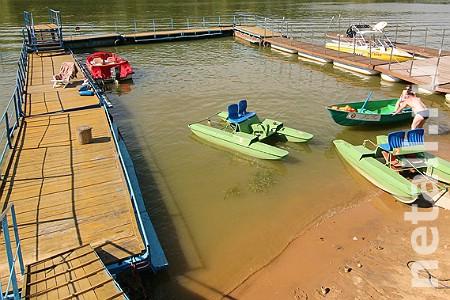 На реке Горетовке близ Алабушево устроят причалы для лодок и водных велосипедов
