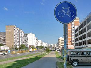 На проект велодорожек в Зеленограде выделено 25 млн рублей