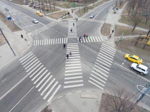 Зеленоградские дорожники столкнулись с коллизией в вопросе нанесения диагональных «зебр»