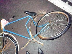 Автомобиль насмерть сбил велосипедиста в промзоне Алабушево