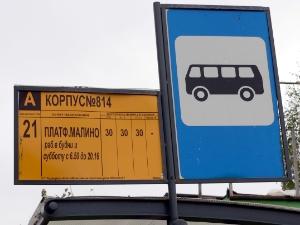 Автобусы до Малино будут ходить и по воскресеньям